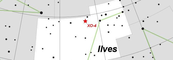 XO-4 Ilvese tähtkujus