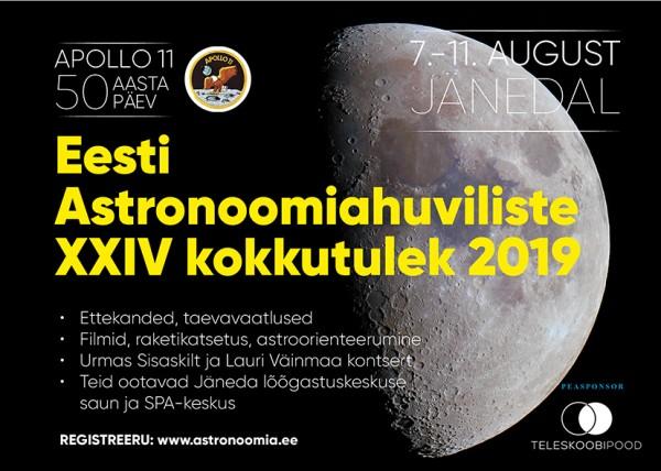 Astronoomiahuviliste kokkutulek 2019