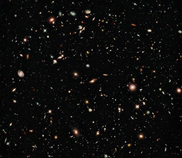 Hubble HUDF09 pilt Universumist