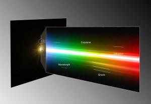Eksoplaneedi HR 8799 c spekter. Allikas: ESO / M. Janson