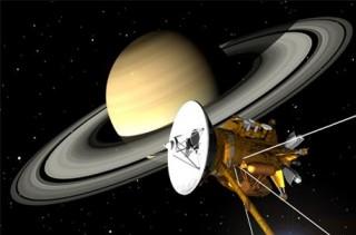 Automaatjaam Cassini Saturni juures