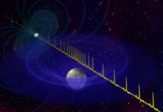 Valge kääbus aeglustab pulsari kiirgusvooge