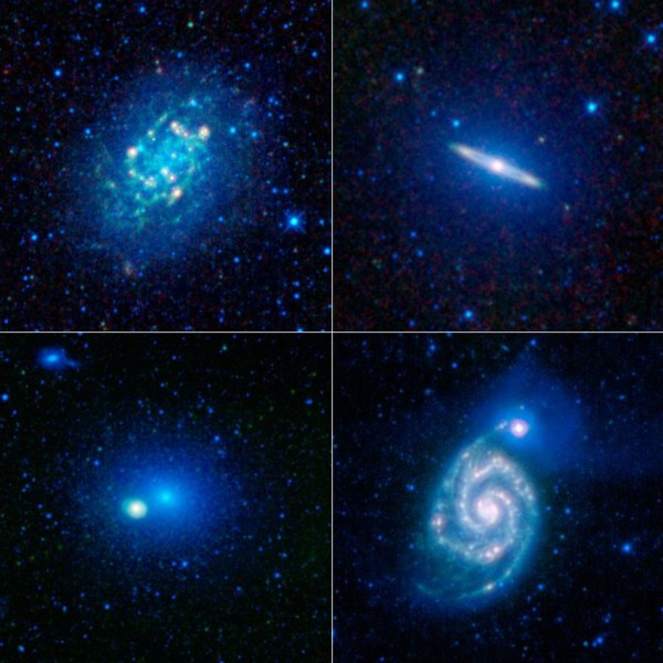 WISE galaktikate valim