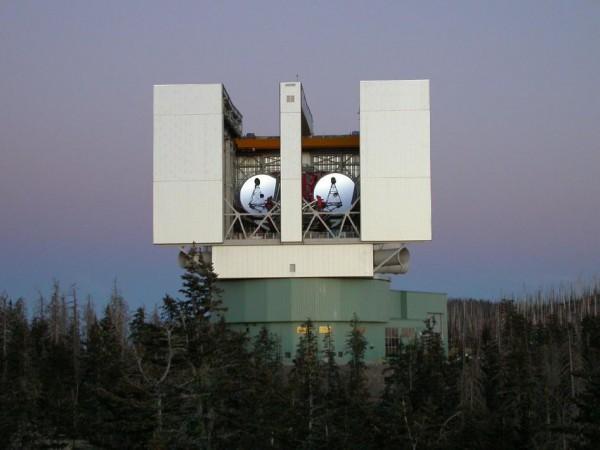 Suur binokulaarne teleskoop Arizonas