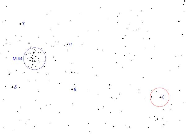 M44 ja Tseeta Cancri