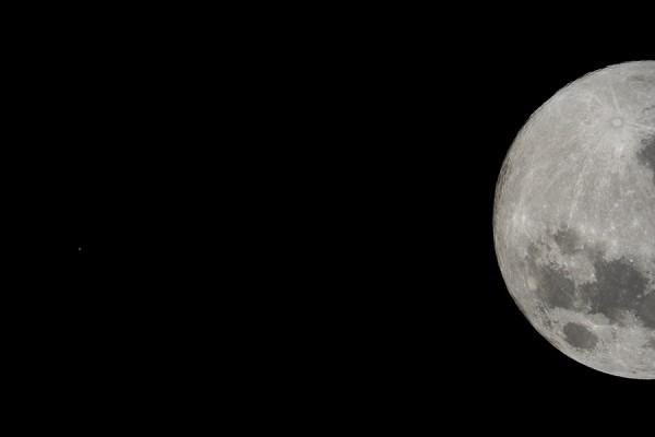 Kuu ja Marss