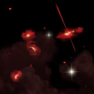 4 avastatud galaktikat.