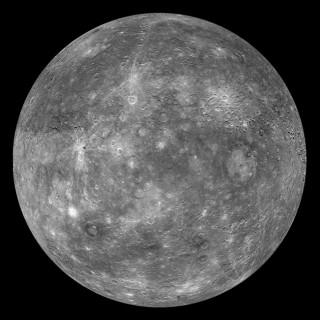 Merkuur pildistatuna Messenger-i poolt.