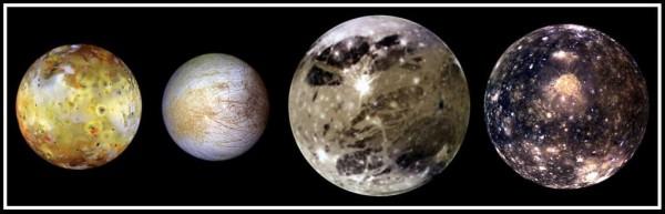 """Jupiteri """"Galileo kuud"""""""