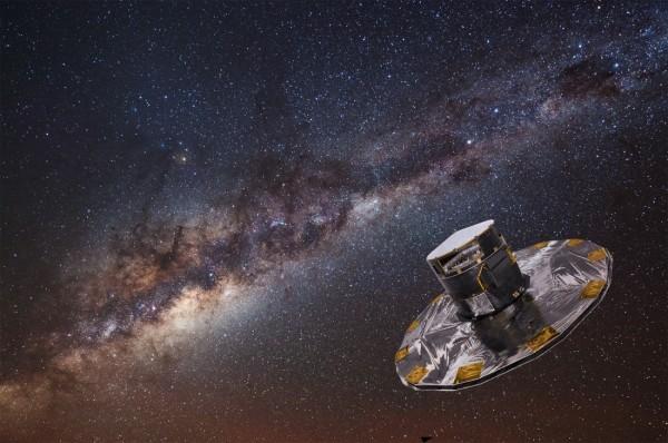 Satelliit GAIA kunstniku nägemuses