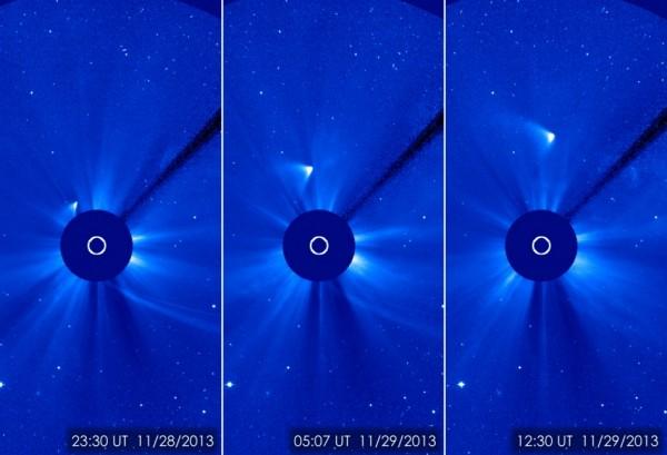 Komeet ISON pärast periheeli