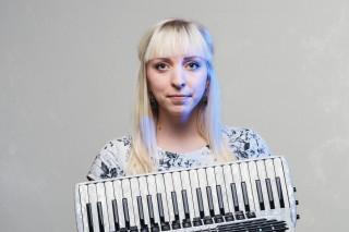 akordionist Maimu Jõgeda Pilt: Patrik Tamm