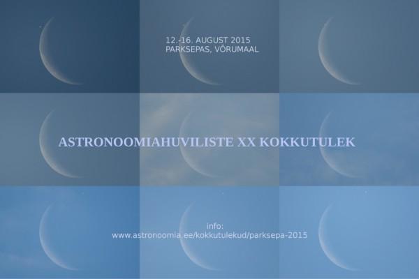 Astronoomiahuviliste XX kokkutulek