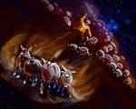 Astronoomiapilt #42: Oorti-onu loomakesed (arvutijoonistus)