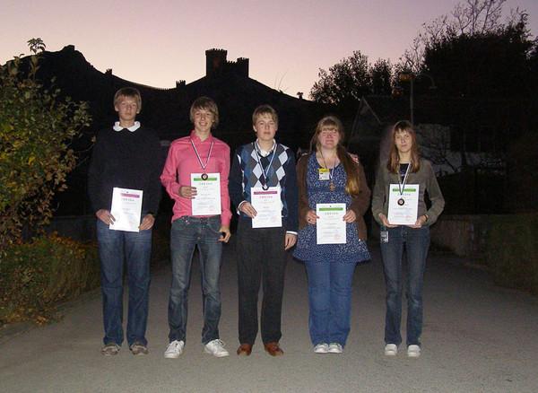 Eesti võistkond Rahvusvahelisel Astronoomiaolümpiaadil