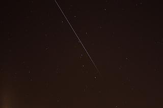 Astronoomiapilt #114: ISS Suure Vankri tähtkujus