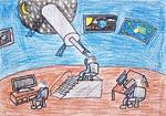 Astronoomiapilt #26: Kosmoselabor (joonistusvõistlus)