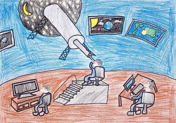 Kosmoselabor (joonistusvõistlus)