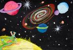 Astronoomiapilt #21: Taevast imetlemas (joonistusvõistlus)