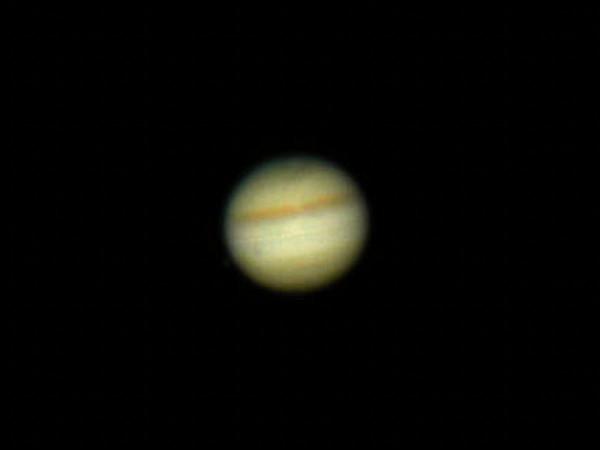 Ühe vöödiga Jupiter ja Europa
