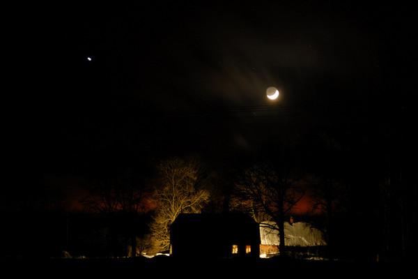 Kuu ja Jupiter