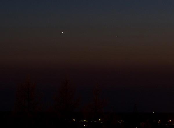 Veenus ja Merkuur