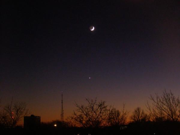 Võrratu Veenus ja kaunis Kuu